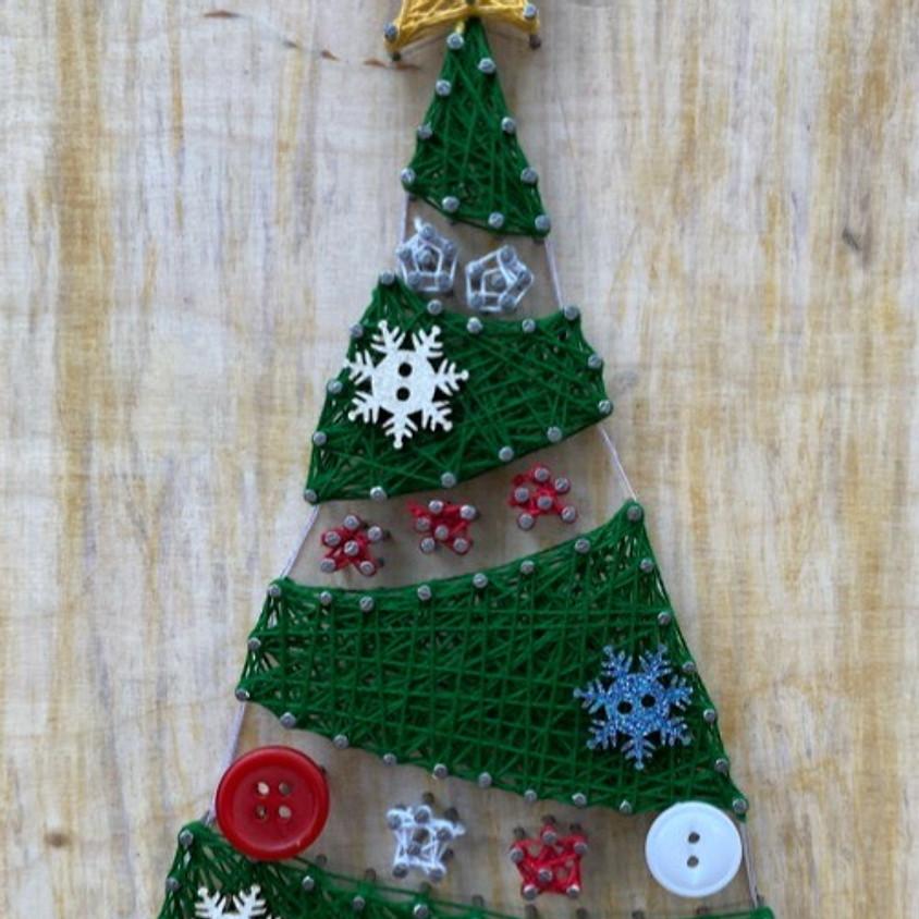 Christmas String Art - Family Workshop