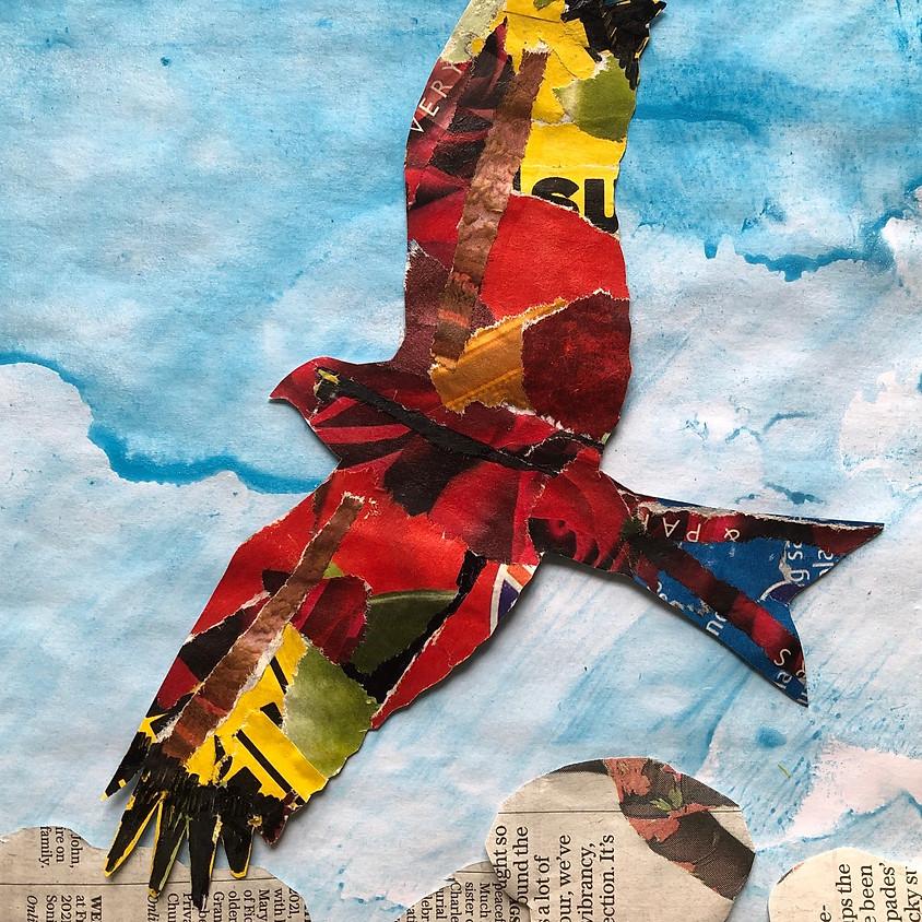 LIVE ZOOM WORKSHOP - BIRDS FLYING FREE