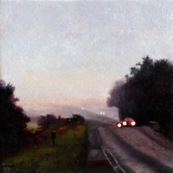Headlights near Padbury