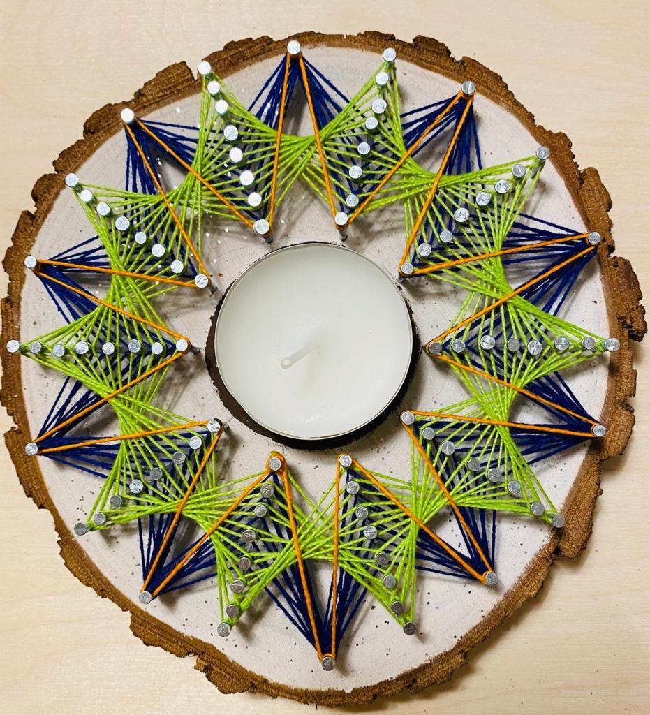 Mandala String Art