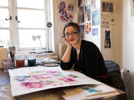 Interview with an artist:  Nicky Hunter