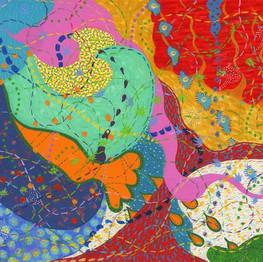ARTIST: Frances Fox MEDIUM: Acrylic  CONTACT: info@francesfoxartist.co.uk INSTAGRAM: @tiggerfx