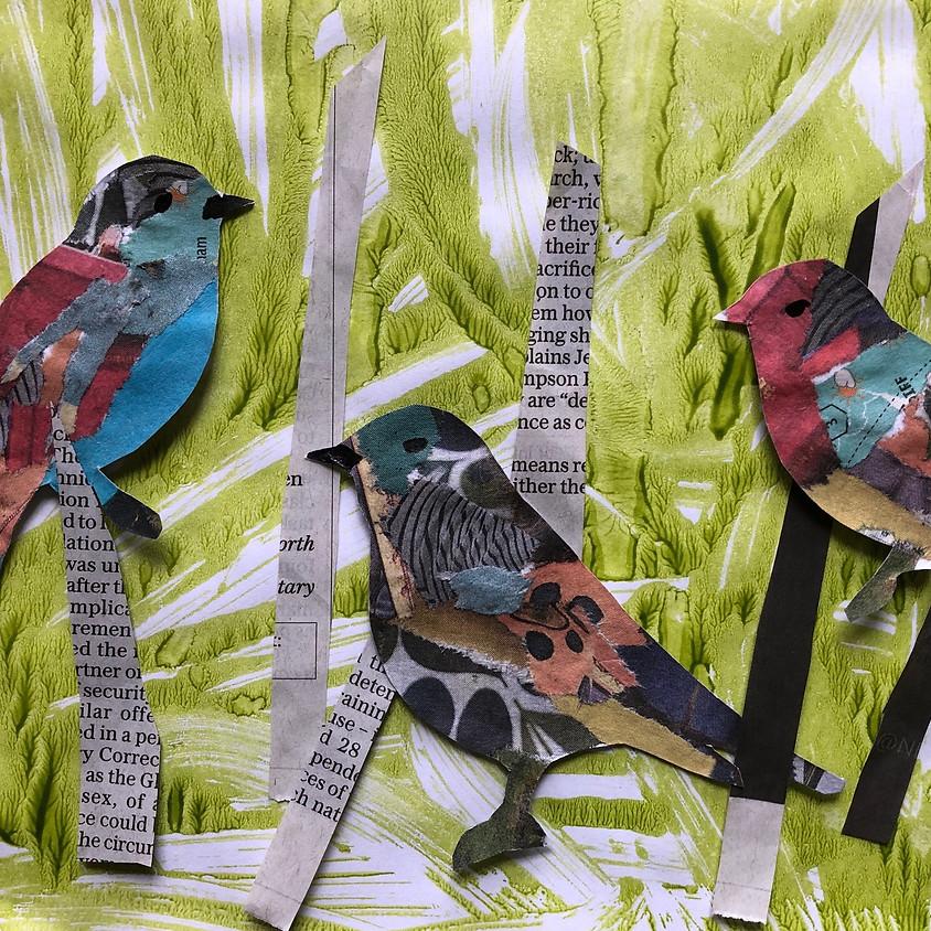 Birds Flying Free - LIVE Zoom childrens workshop