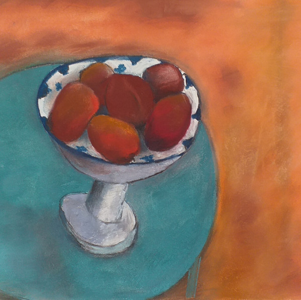Still life with tomatoes
