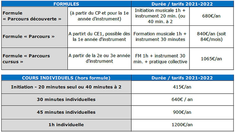 Tarifs : planning cours individuels.png