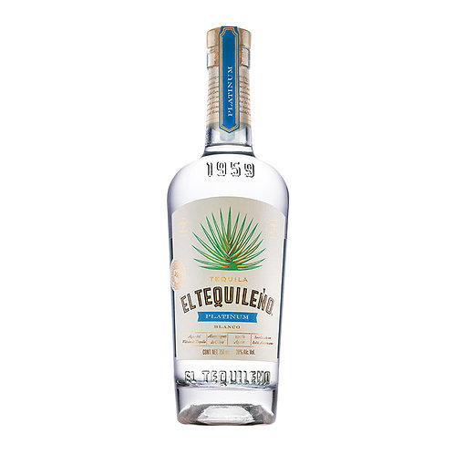El Tequileño Platinum Blanco 750ml