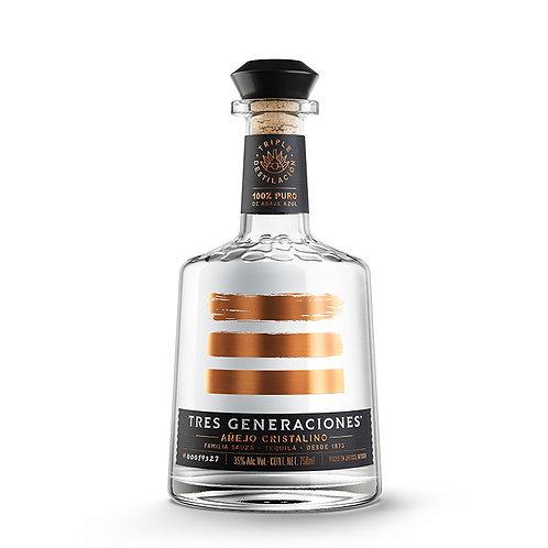 Tequila Tres Generaciones Añejo Cristalino 750 ml