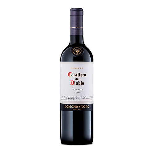 Casillero Del Diablo Merlot 750 ml
