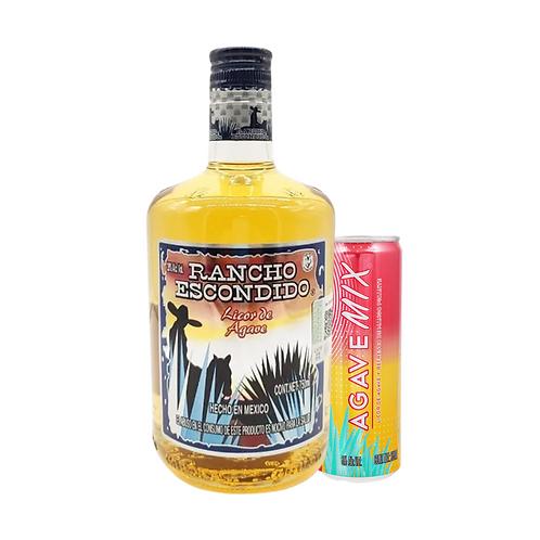 Rancho Escondido Oro 750ml + 1 Agave Mix Mango Picante 335 ml