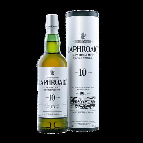 Whisky Laphroaig 10 años 750ml