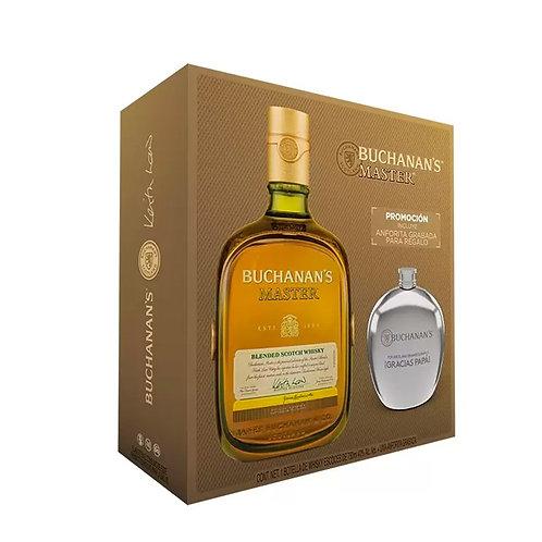 Whisky Buchanan's Masters 750ml + Anfora