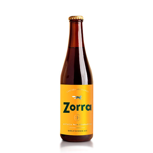 Cerveza Zorra Wheat Summer Ale  355 ml