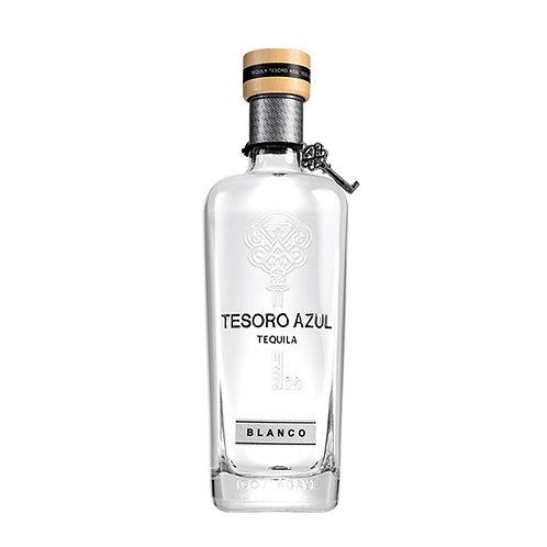 Tequila Tesoro Azul Blanco 750ml