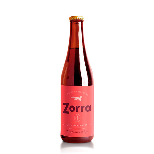 Cerveza Zorra Berry Summer Ale  355 ml