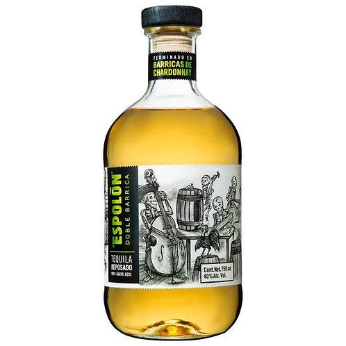 Tequila Espolón Doble Barrica Reposado Chardonay 750ml