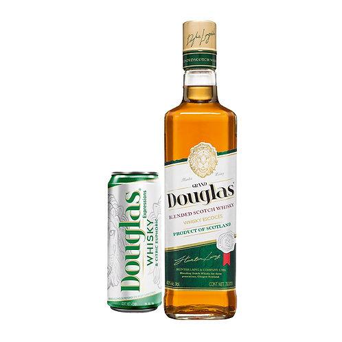 Whisky Grand Douglas 750 ml + Lata de Grand Douglas Expressions 473 ml