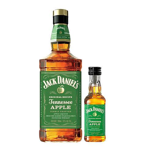 Whisky Jack Daniel's Apple 700 ml + Mini Jack Daniel's 50 ml