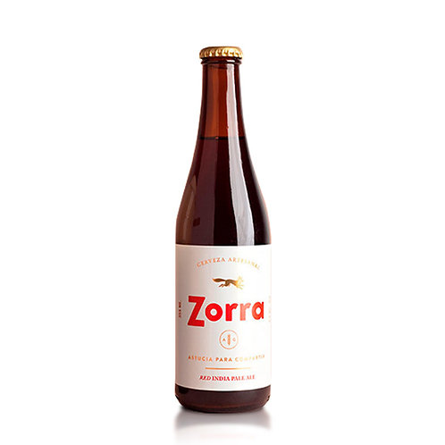 Cerveza Zorra Red India Pale Ale 355 ml