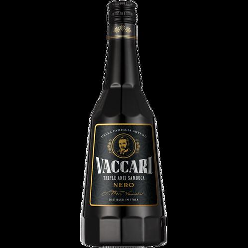 Licor Sambuca Vaccari Black 700 ml