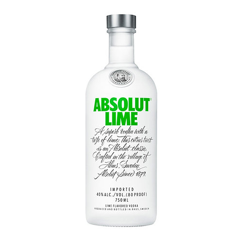 Absolut Vodka Lime 750ml