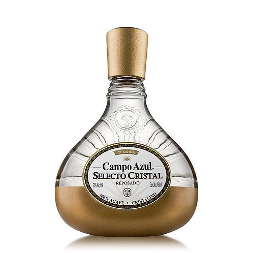 Tequila Campo Azul Selecto Cristal Reposado 750ml