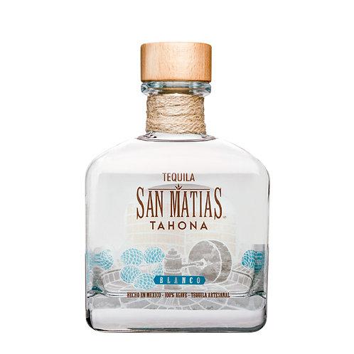 Tequila San Matías Tahona Blanco 750 ml