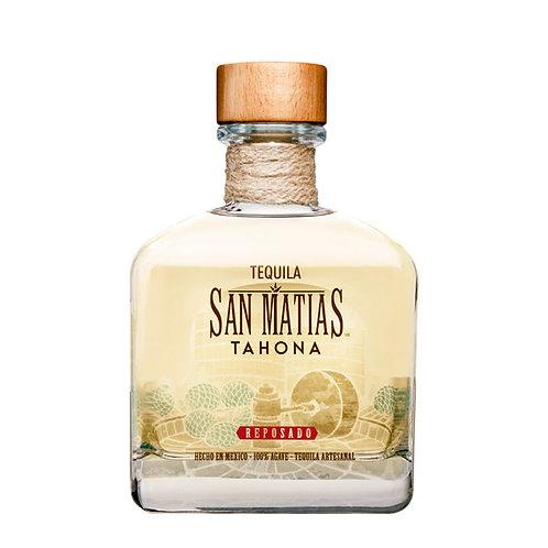 Tequila San Matías Tahona Reposado 750ml