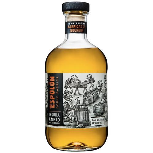 Tequila Espolón Doble Barrica Añejo 750ml