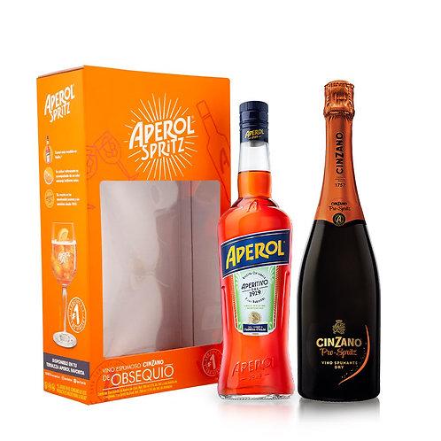 Aperol 750 ml + Cinzano Pro Spritz 750 ml