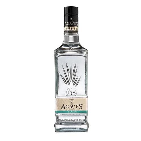 Tequila Cinco Agaves Blanco 750 ml