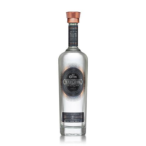 Tequila Tradicional Reposado Cristalino 750ml