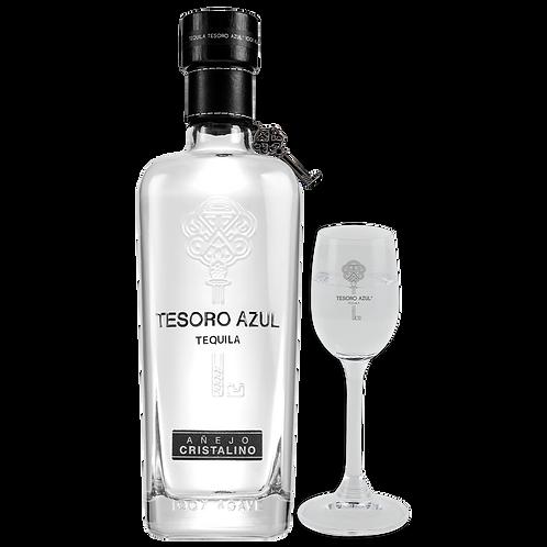 Tequila Tesoro Azul Cristalino 750ml