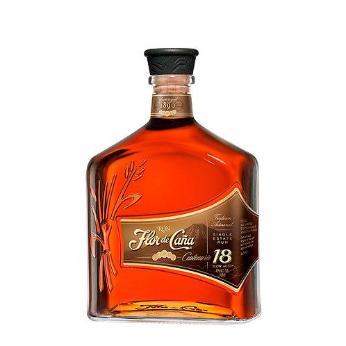 Ron Flor de Caña Centenario 18 Años 750 ml