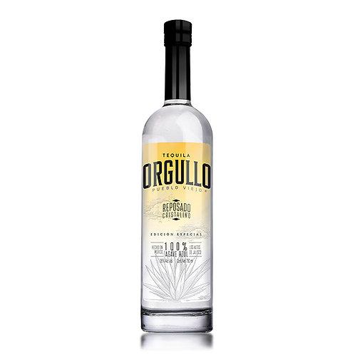 Tequila Orgullo Pueblo Viejo Cristalino 750ml