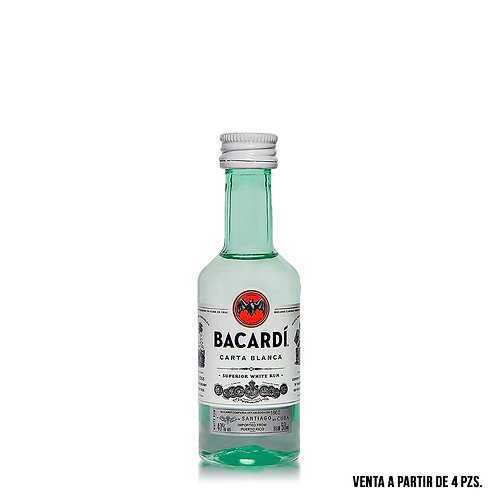 Mini Bacardi Carta Blanca 50 ml