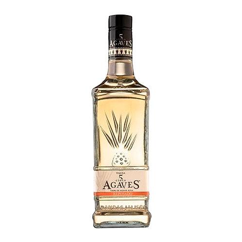 Tequila Cinco Agaves Reposado 750 ml