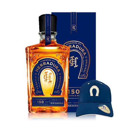 Tequila Herradura 150 Aniversario 750 ml + Gorra Gratis