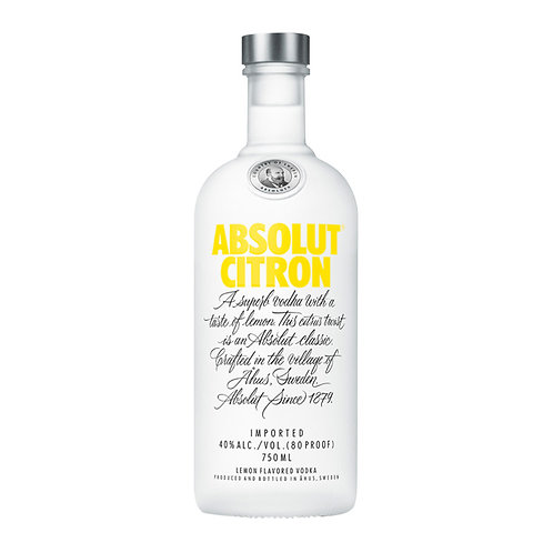 Absolut Vodka Citron 750ml