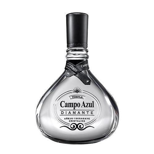 Tequila Campo Azul Cristalino Diamante 750ml