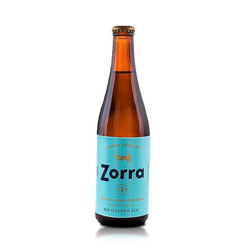 Cerveza Zorra Rye Golden Ale 355 ml