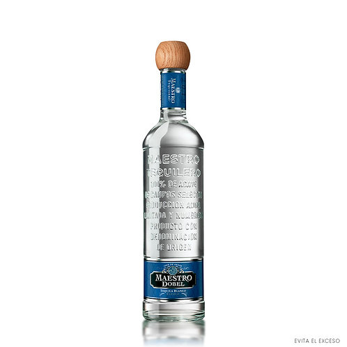 Tequila Maestro Dobel Blanco 750 ml