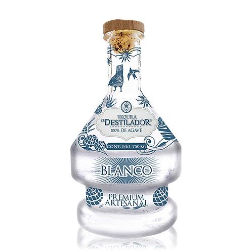 Tequila El Destilador Artesanal Bco. 750ml