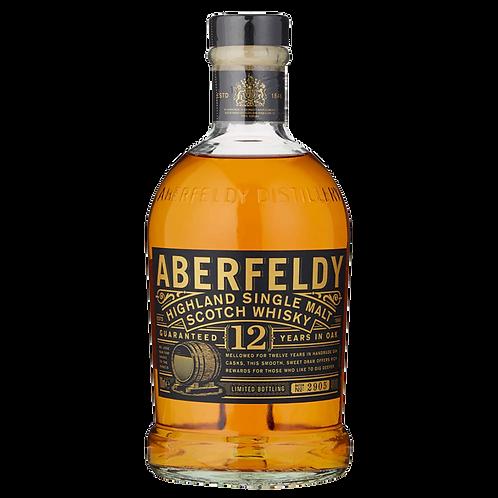 Whisky Dewars Aberfeldy 12 años Gold Bar 750ml