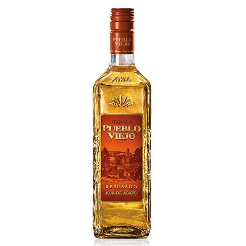 Tequila Pueblo Viejo Rep. 750ml