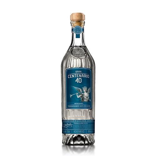 Tequila Gran Centenario 40 Blanco 750ml