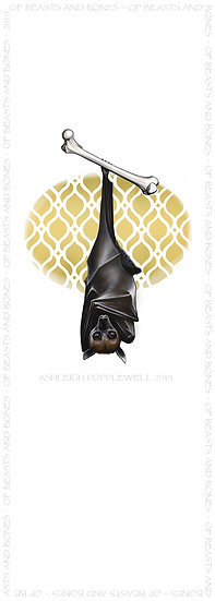 Bat and Femur Bookmark