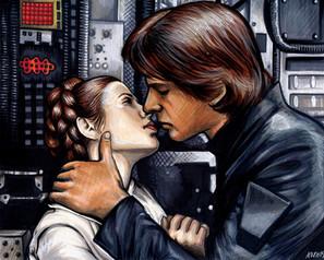 Han and Leia