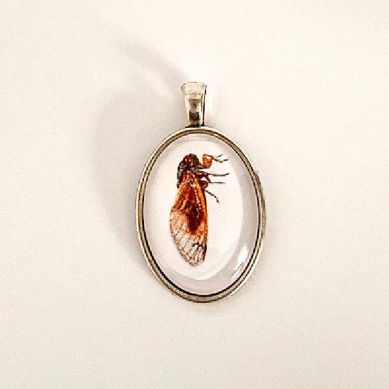 Cicada Pendant Necklace