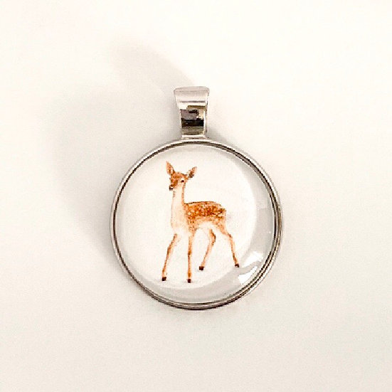 Fawn Pendant Necklace