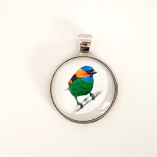 Finch Pendant Necklace